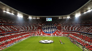 Bayern Munchen Fans Colorful Choreography HD Wallpaper