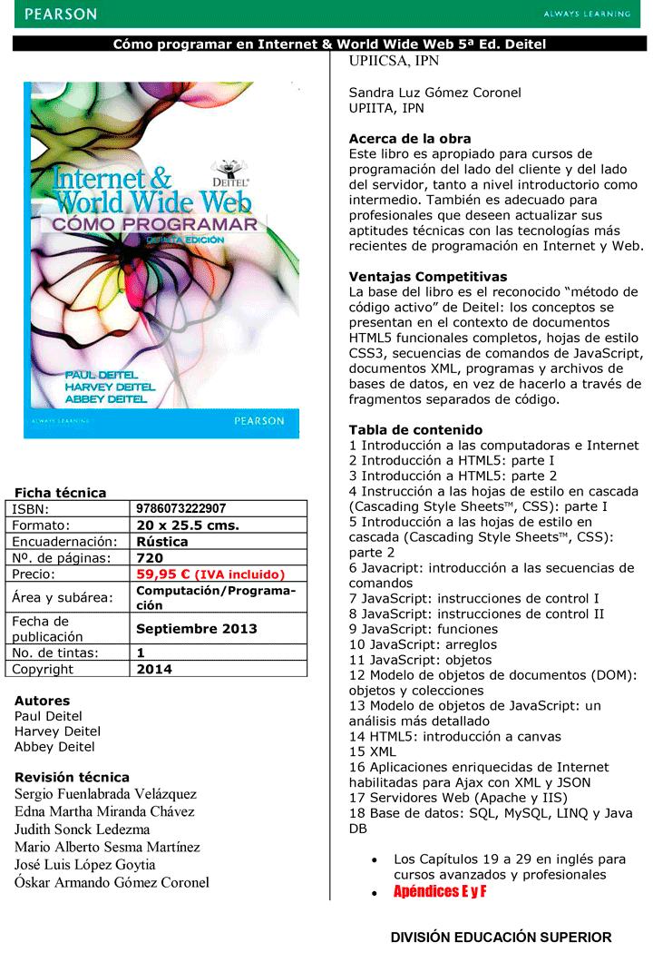 internet and world wide web deitel pdf