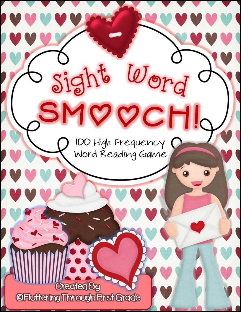 http://www.teacherspayteachers.com/Product/Valentines-Day-Sight-Word-Smooch-100-High-Frequency-Word-Reading-Game-1084785