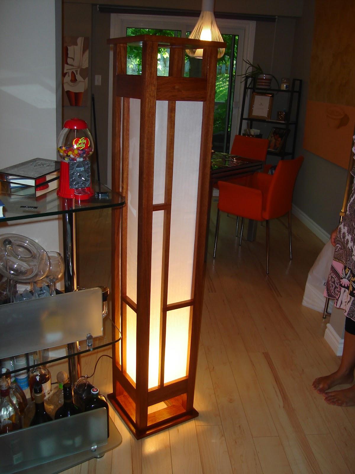 g's wood shop: a gift given- shoji screen japanese floor lamp (jfl 10)