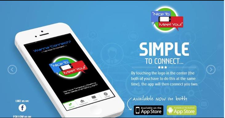 Nice To Meet You Mobile App