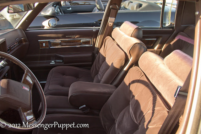 Oldsmobile Cutlass rear window