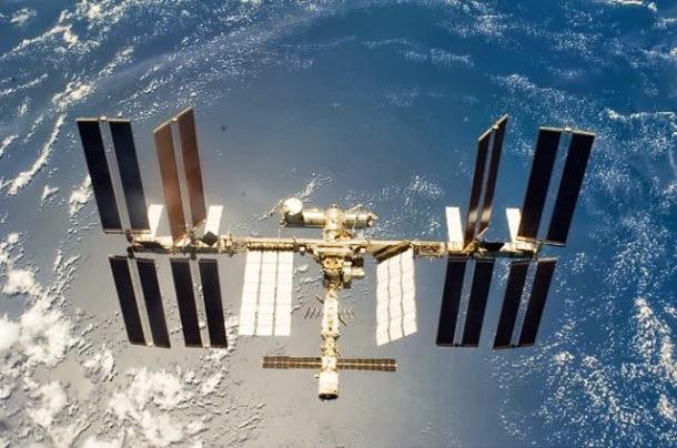 Localização da ISS