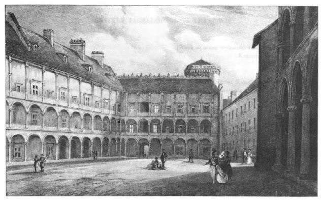 Wnętrze Zamku Królewskiego na Wawelu
