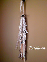 Ribbon and Lace Tassel