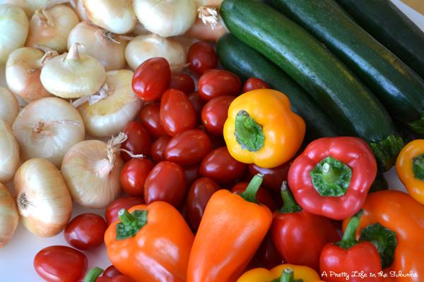 Veggie & Sausage Shish Kabobs