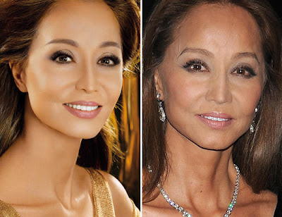 isabel preysler sin photoshop