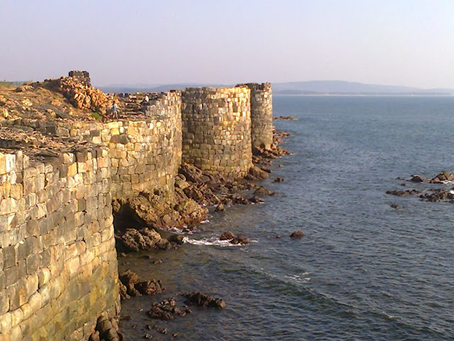 Sindhudurg Fort Killa - The Sea Fortress