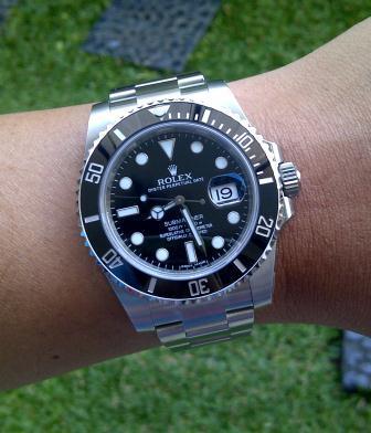 Jam Rolex SubMariner Asli