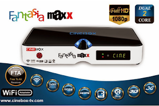 Arquivo para recovery Cinebox Fantasia Maxx 3 Tuners