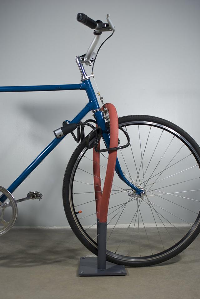 Rack flexível para bicicletas