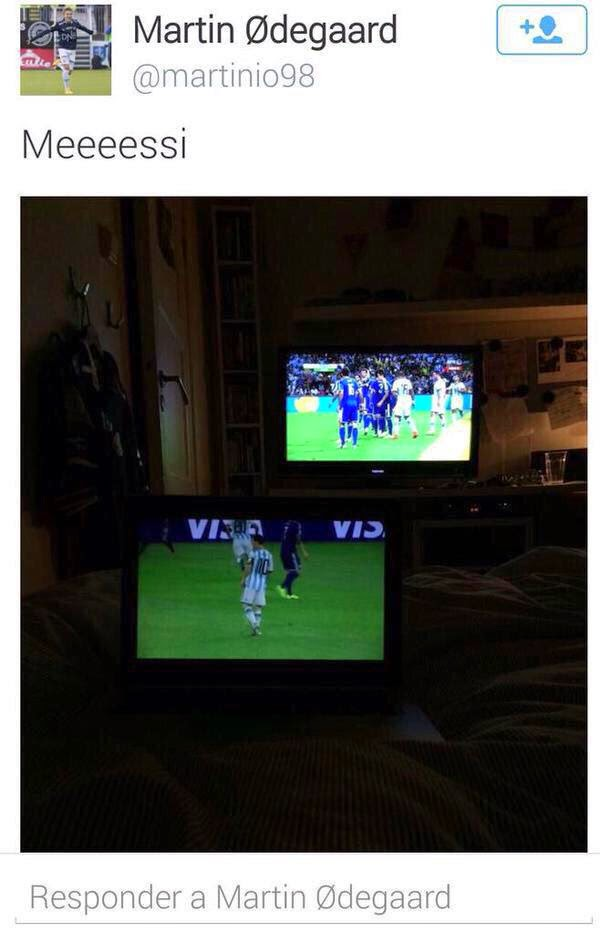 Martin Ødegaard es fan de Lionel Messi - Official Website - BenjaminMadeira