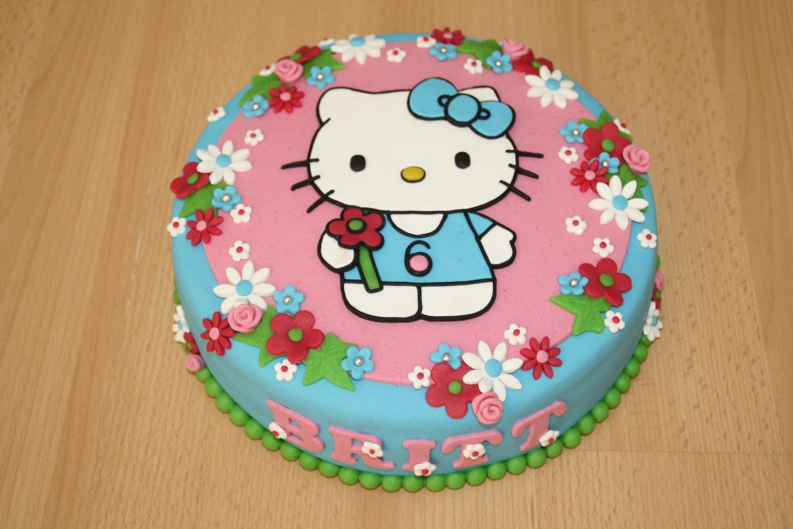 Karin S Taarten Hello Kitty Taart