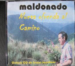 El cantautor Maldonado publica su octavo disco jacobeo