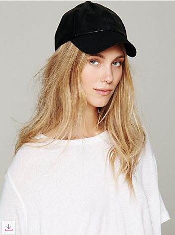 Vegan Leather Baseball Hat The Vegan Voguette