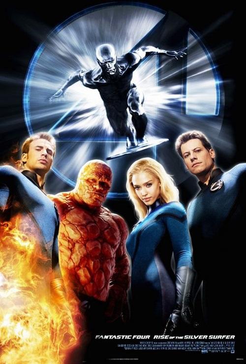 Fantastik 4: Gümüş Sörfçü'nün Yükselişi (2007) 1080p Film indir