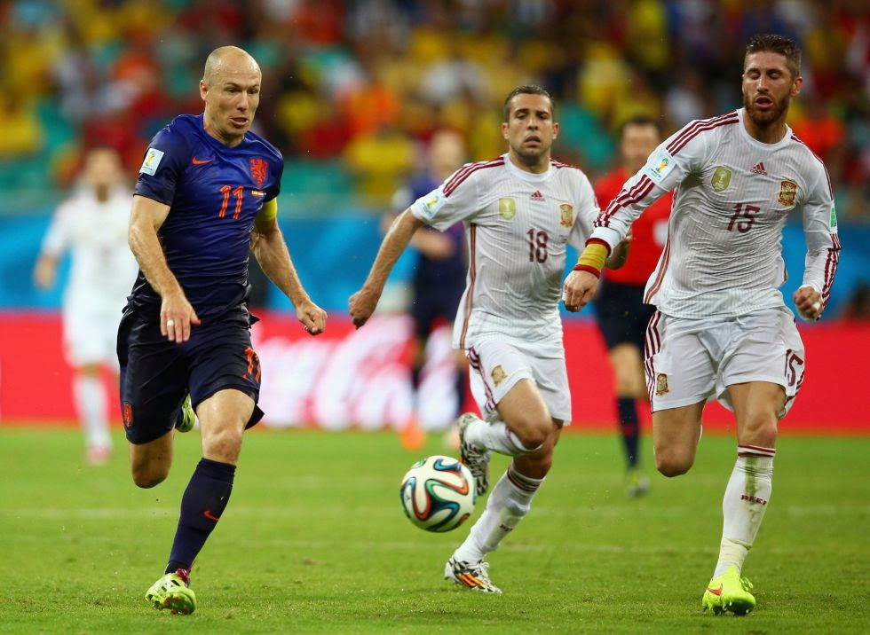 Robben Fastest Football Player