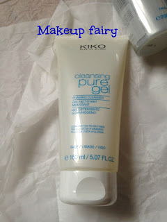 review kiko cleansing pure gel