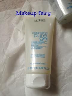 review kiko cleansing pure gel