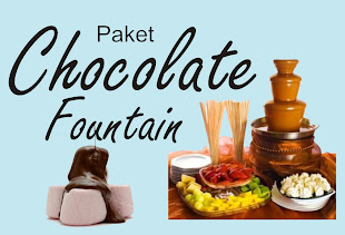 Paket Food Stand Chocolate Fountain
