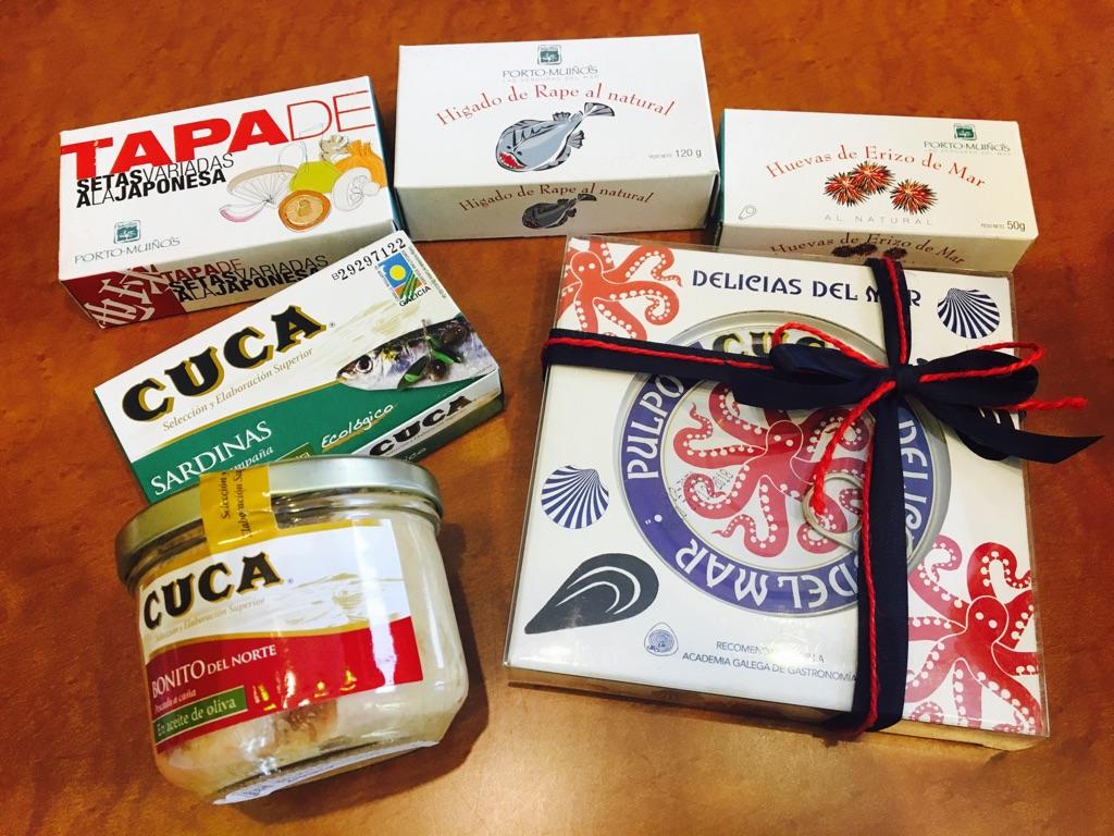 スペインの高級缶詰 CUCA