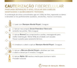 Cauterização FiberCeutic FiberCellular Loreal Botox