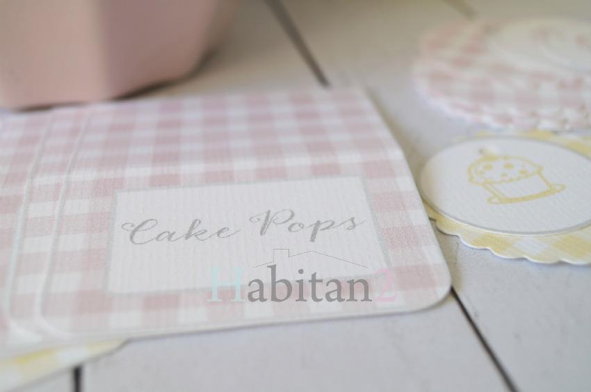 Kit para fiestas estampado vichy diseño de HABITAN2