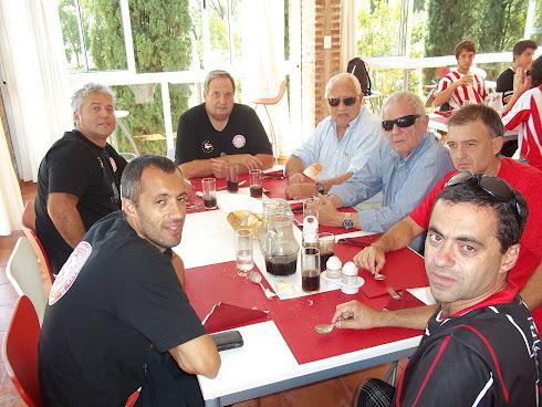 Almuerzo en el restaurant del Golf
