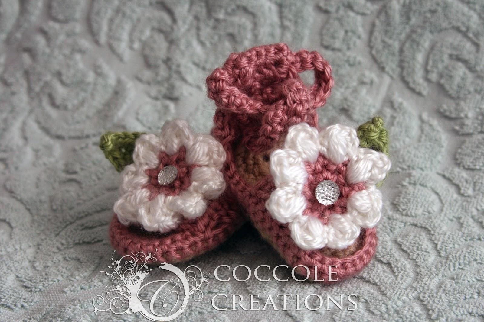 Baby Flower Sandals Pattern
