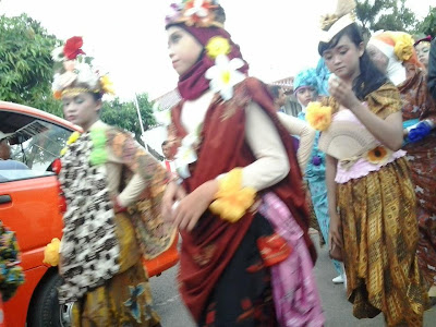 Karnaval 1001 Bunga Kab Batang 2013