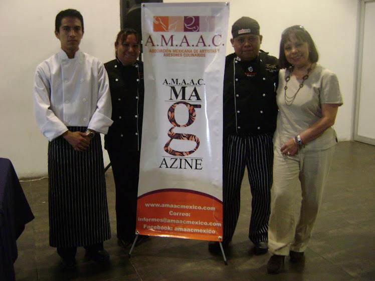 ASOCIACION MEXICANA DE ARTISTAS Y ASESORES CULINARIOS