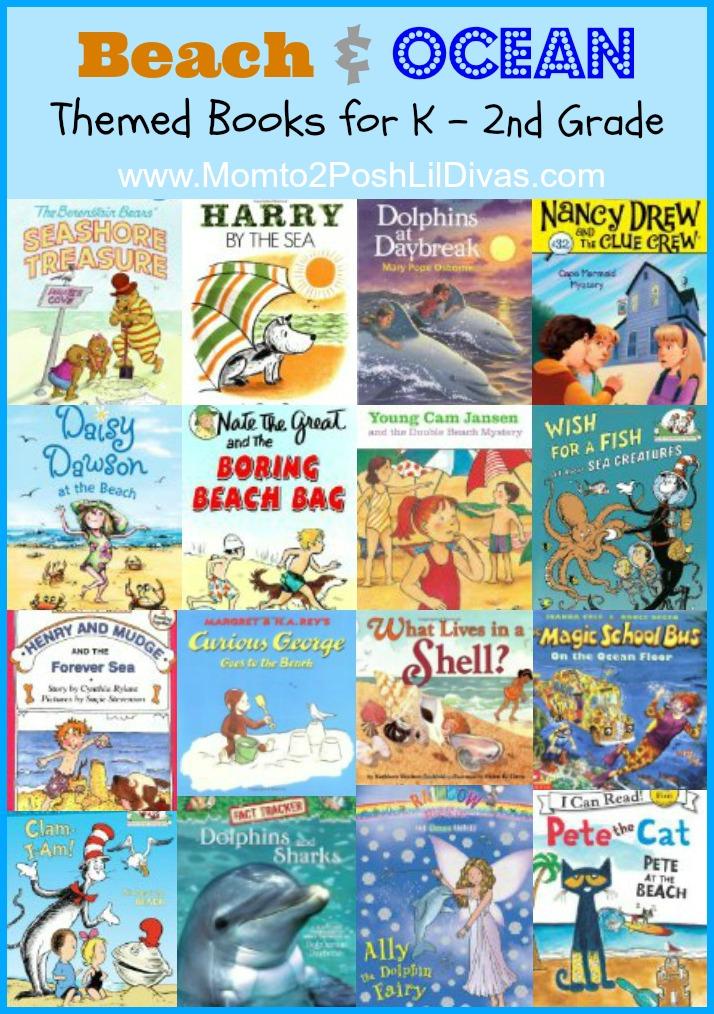 Mom To 2 Posh Lil Divas Beach And Ocean Books For K Thru 2nd Grade
