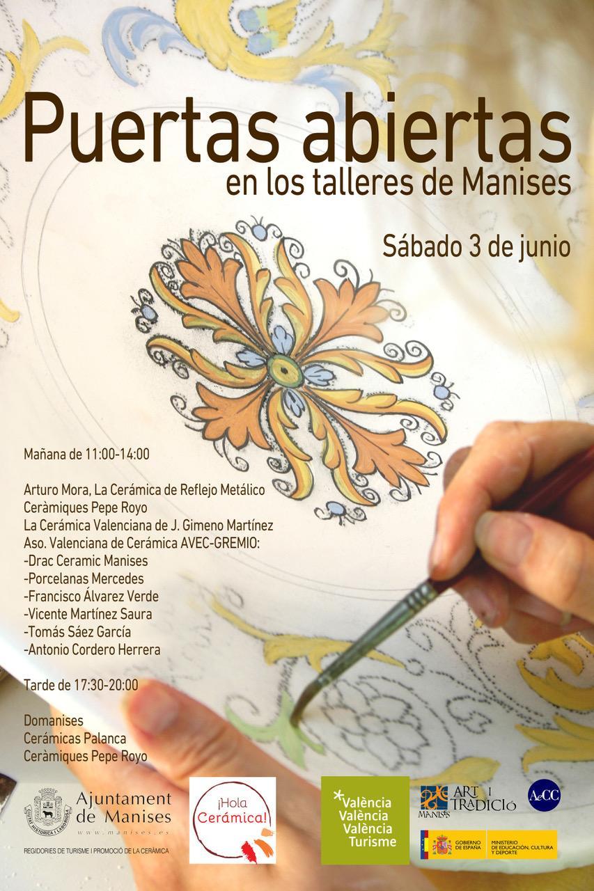 03.06.17 CERÁMICA: DÍA DE PUERTAS ABIERTAS EN LOS TALLERES DE MANISES