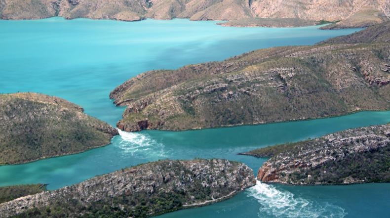 Horizontal Falls: Las Cascadas Horizontales en Kimberley