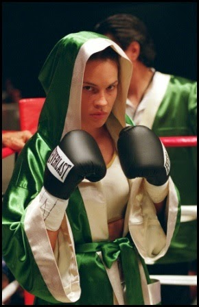 Hilary Swank en Million Dollar Baby