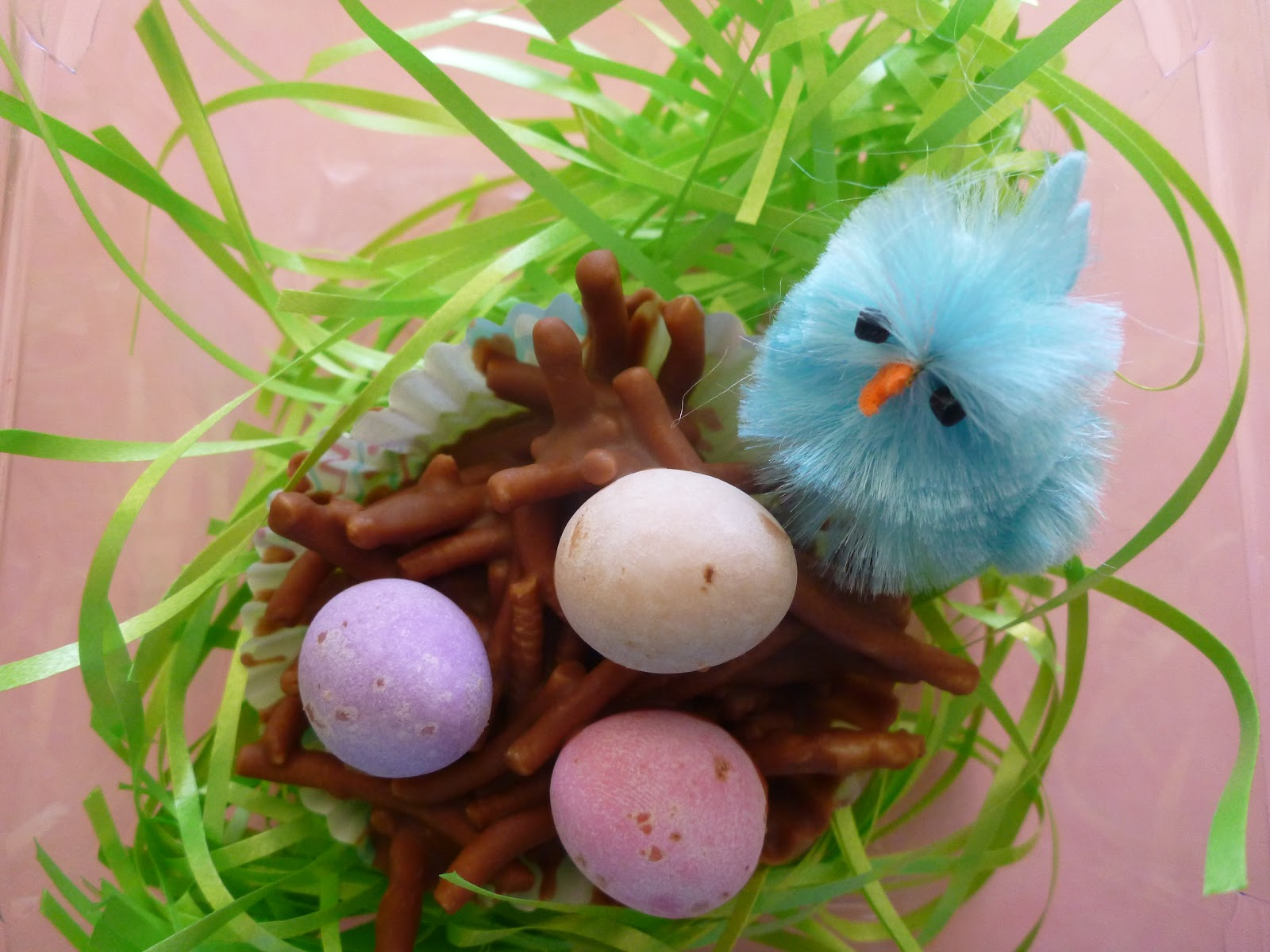 Cassadiva chocolate easter nests gifts just melt chocolate combine with crunchy noodles and then top with mini easter eggs negle Image collections
