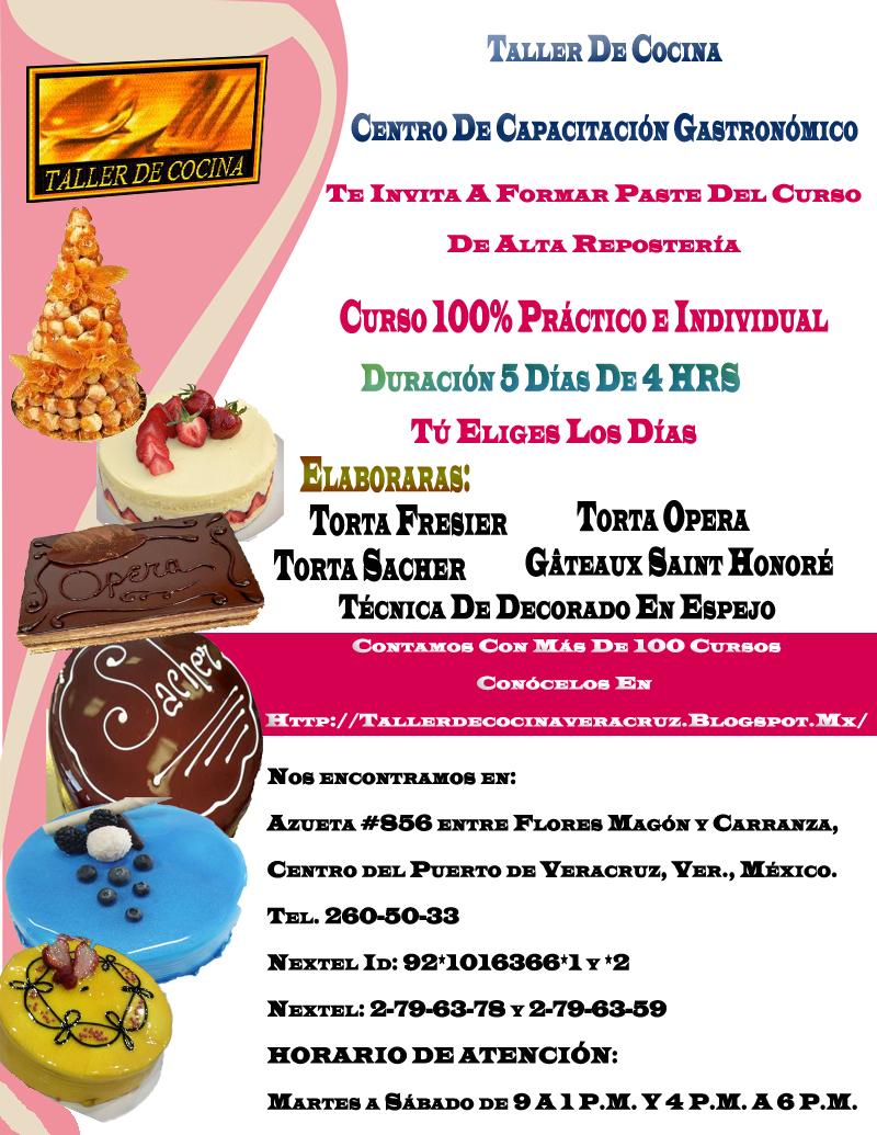 Taller de cocina alta pasteler a - Temario fp cocina y gastronomia ...
