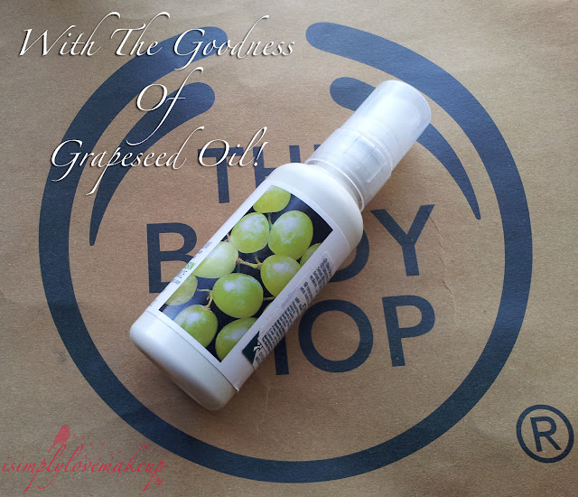 The Body Shop Grapeseed Glossing Serum Review