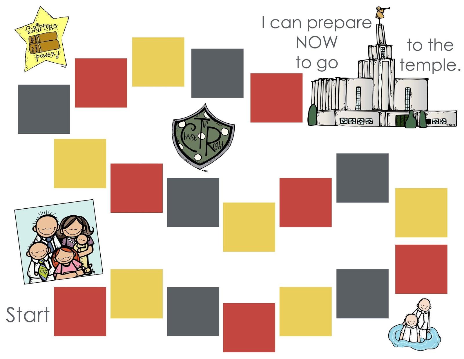 Clipart from Nikki of Melonheadz LDS Illustrations