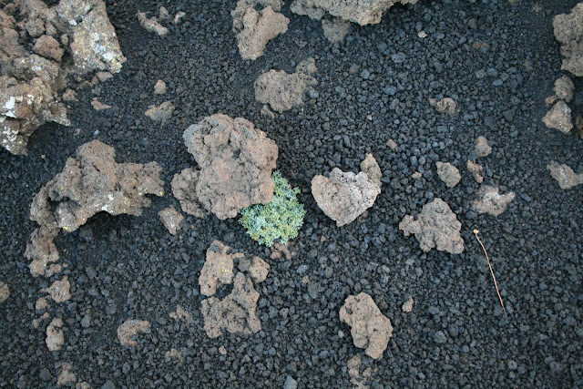 Volcanic gravel and rocks, Etna Sicily