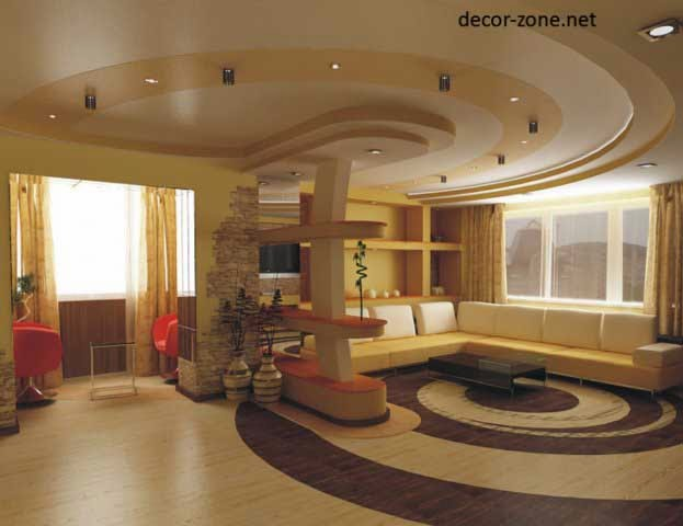 12 stretch ceiling designs for living room