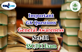 General Awareness Quiz –