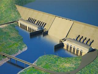 Ethiopian Renaissance dam on Nile