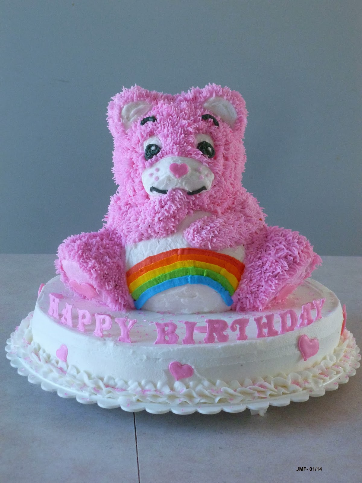 Jens Crafts And Cakes A Cheer Bear Cake For Our Birthday Girl