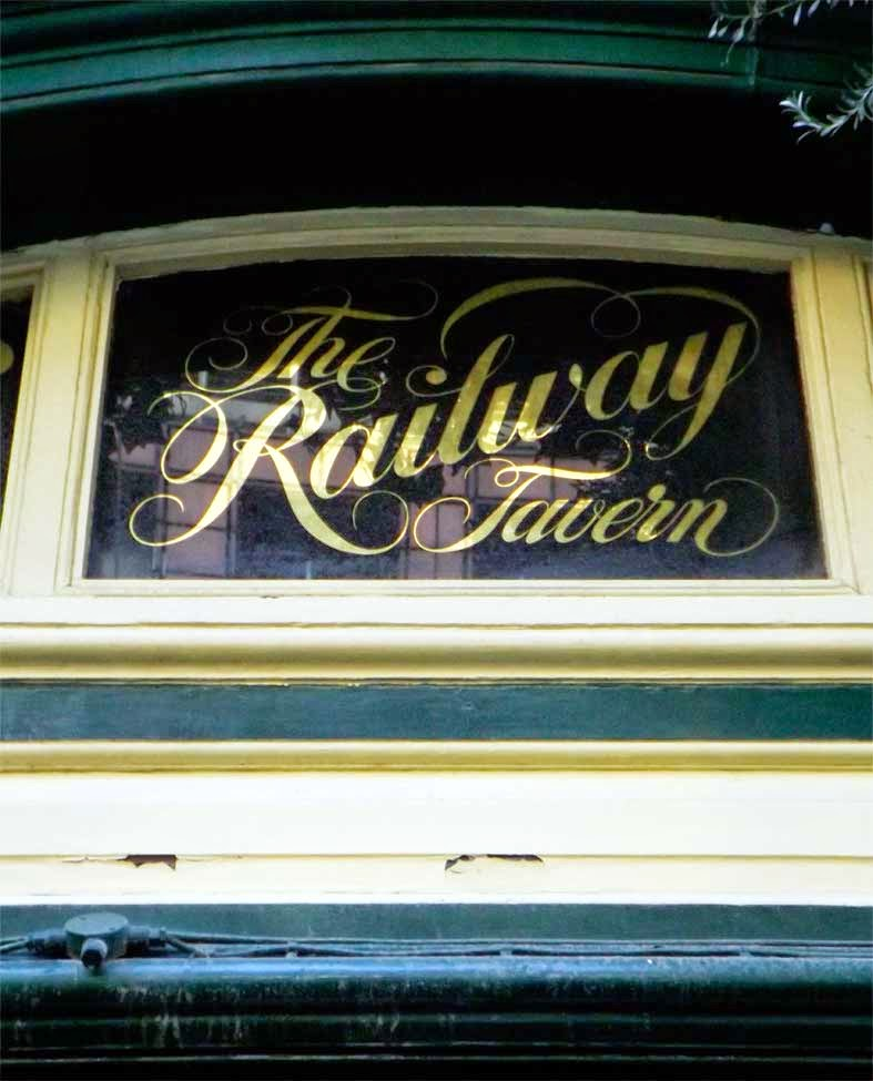 railway tavern pub london