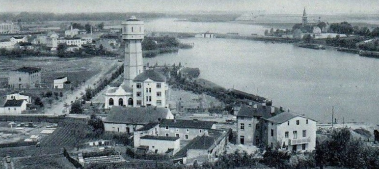 Wieża ciśnień w Kruszwicy 1940 rok