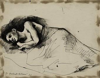pavel_tchelitchew_woman_sleeping_d532769