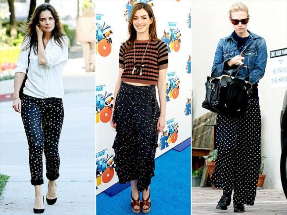 Pants with polka dots 9