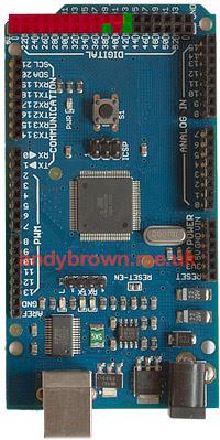 512 KB SRAM expansion for ATMEGA1280