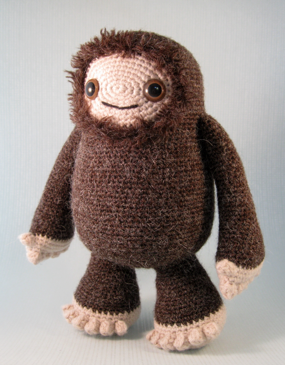 Amigurumi Bigfoot Panda : LucyRavenscar - Crochet Creatures: Yeti and Bigfoot ...